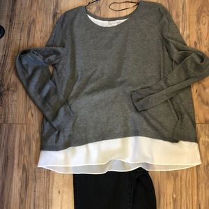 H&M layered sweater